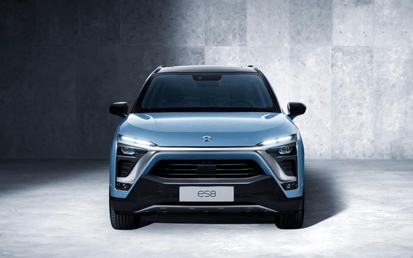 Une voiture électrique Nio