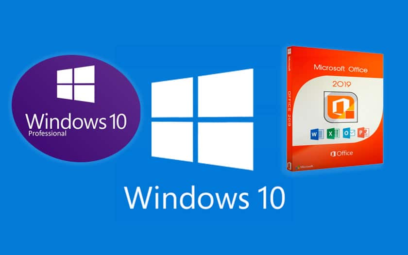 windows 10 pro office 2019 promo