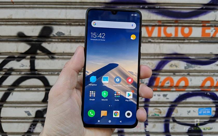 Prise en main du Xiaomi Mi 9