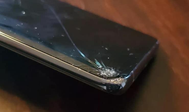 Galaxy S10+ céramique, écran cassé