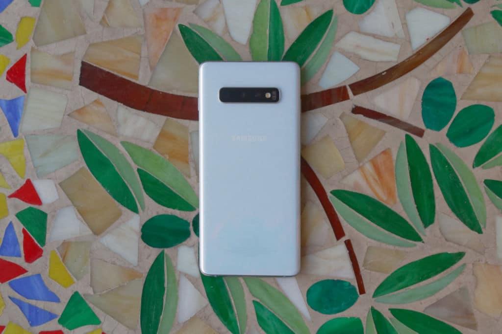 Dos du Samsung Galaxy S10+