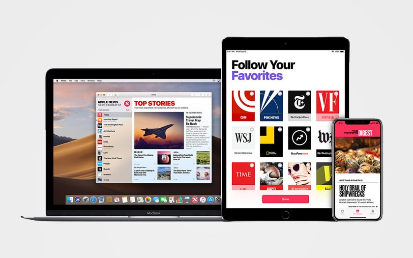 abonnement apple news