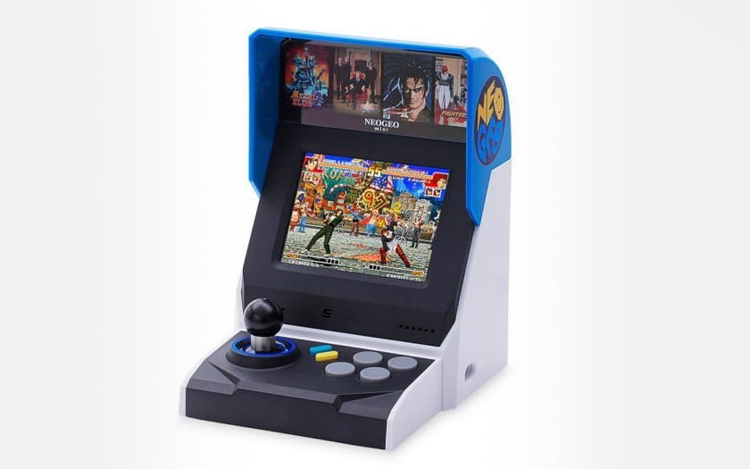 console neo geo mini edition internationale