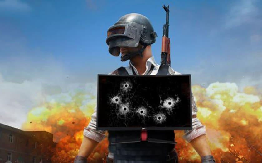 ecran gaming msi stoppe balle
