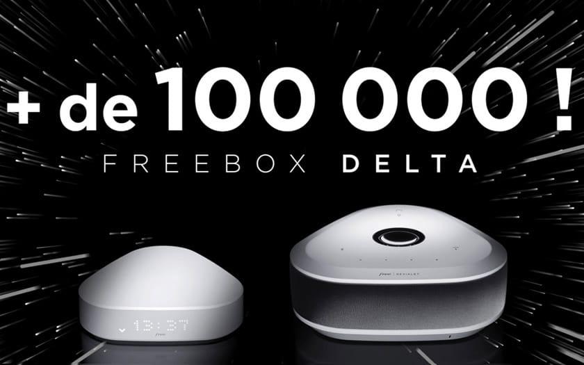 freebox delta 100000 abonnés