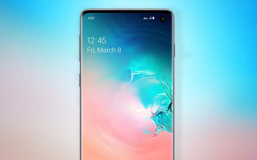 galaxy s10 ecran displaymate