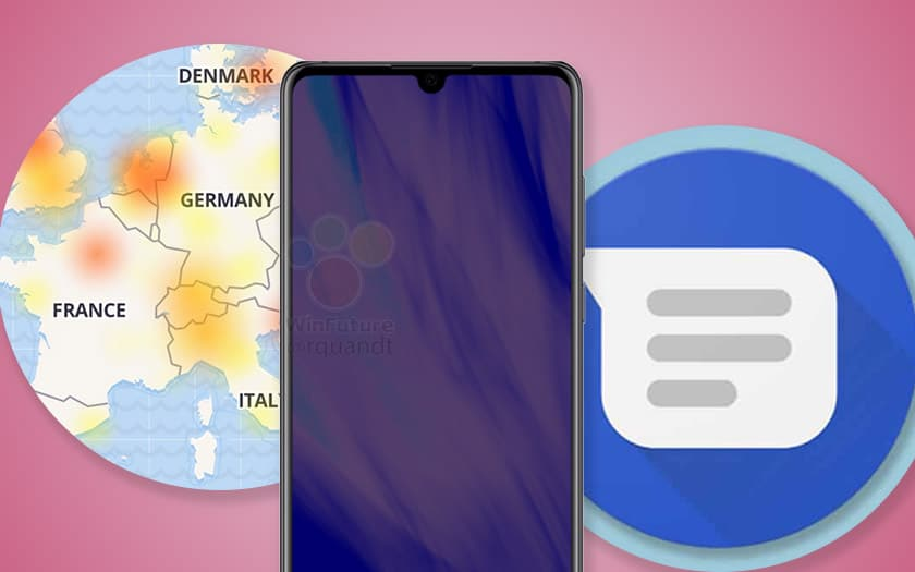 google messages facebook panne huawei dement triché