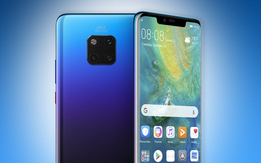 huawei mate 20 pro meilleur smartphone 2018