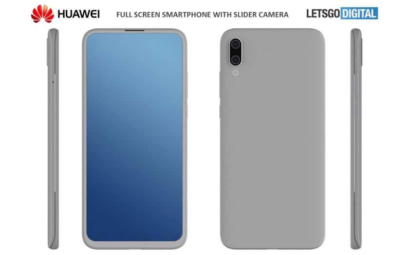 huawei smartphone slider
