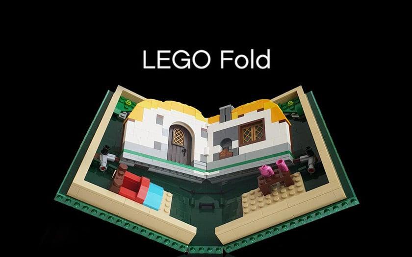 Lego fold jouet en brique pliable