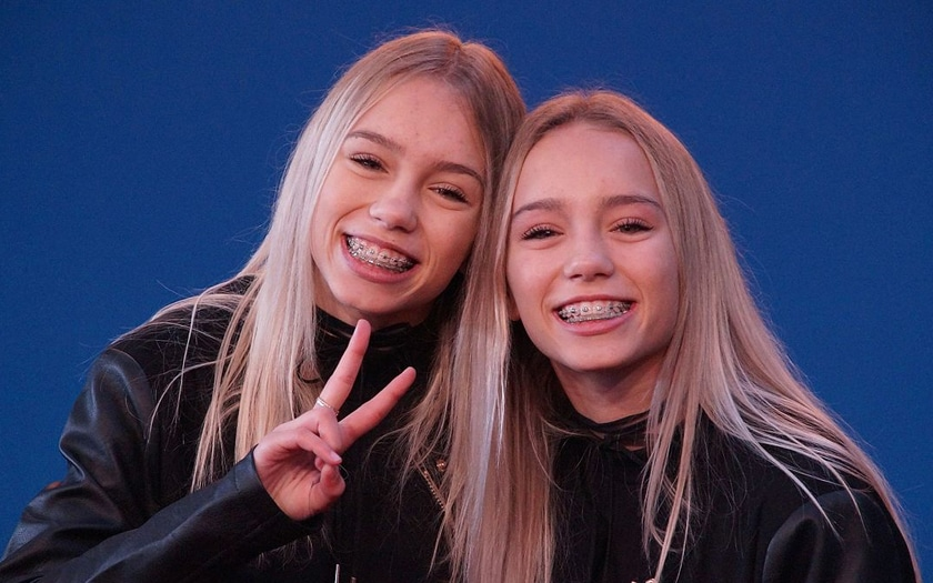 Lisa et Lena, stars de Tik Tok / Wikimedia