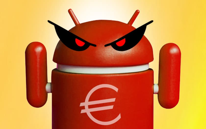 malware android gustuff piller compte banque voler bitcoins