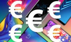 meilleurs smartphones moins de 500 euros