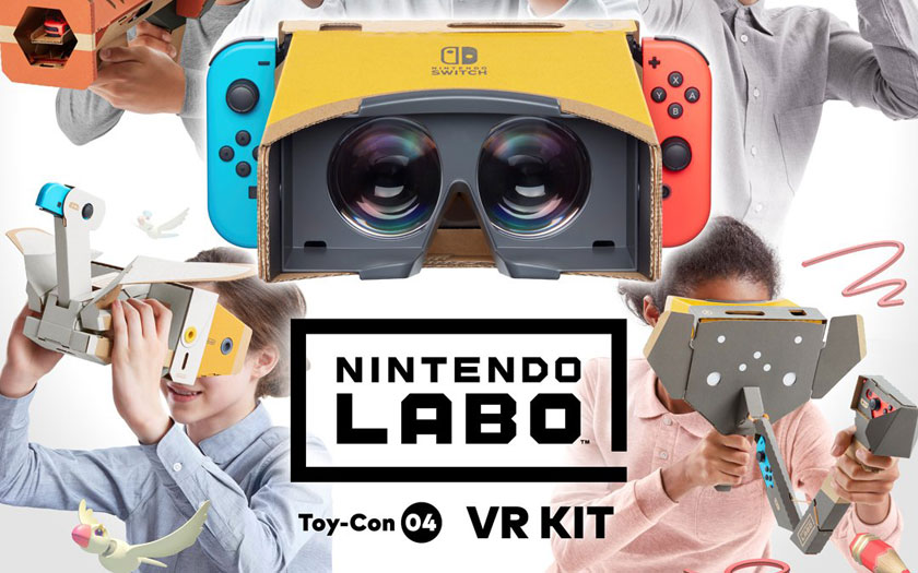 Nintendo Switch kit Labo VR