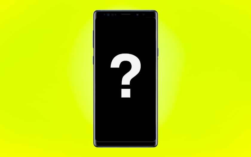 Que faire quand l'écran du Note 9 ne se rallume plus
