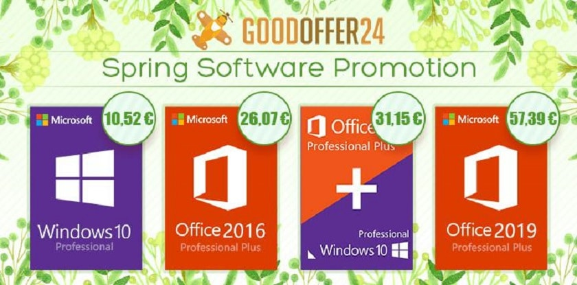 promos windows 10 goodoffer24