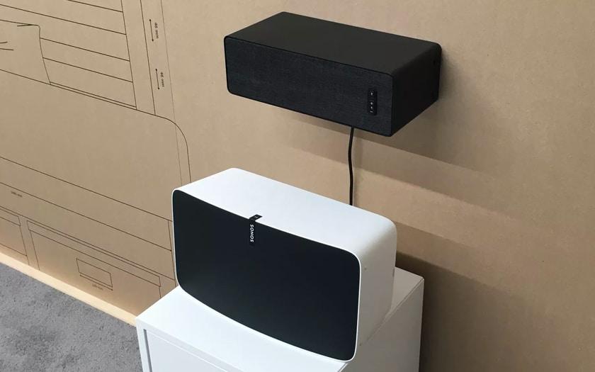 Prototypes d'enceintes Symfonisk / Sonos Ikea