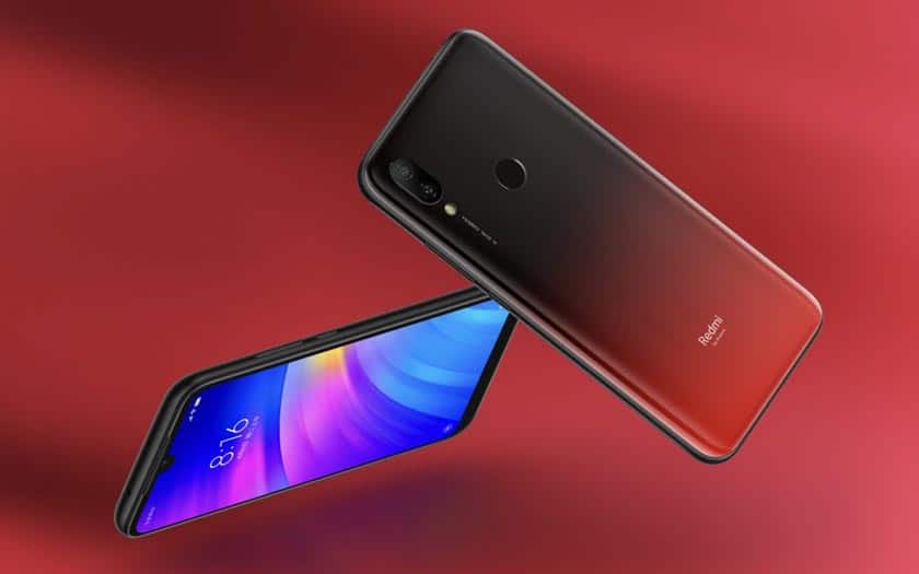 redmi 7 rouge
