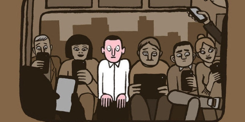 smartphone solitude maladies