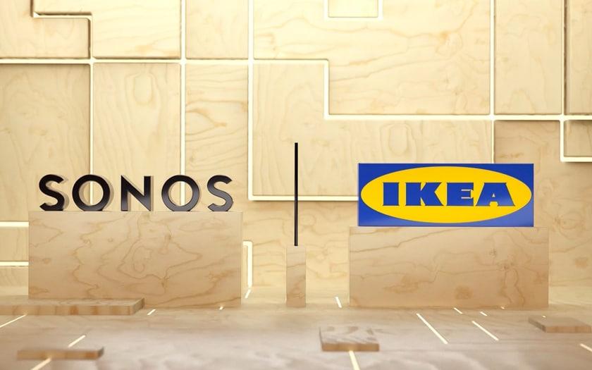 Sonos collabore avec Ikea pour une enceinte connectée Symfonisk
