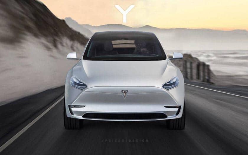 Tesla Model Y Twitter: Tesla Model Y : Lancement Le 14 Mars 2019, Voici Les