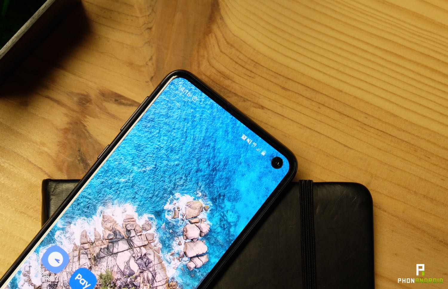 test samsung galaxy s10e ecran poincon