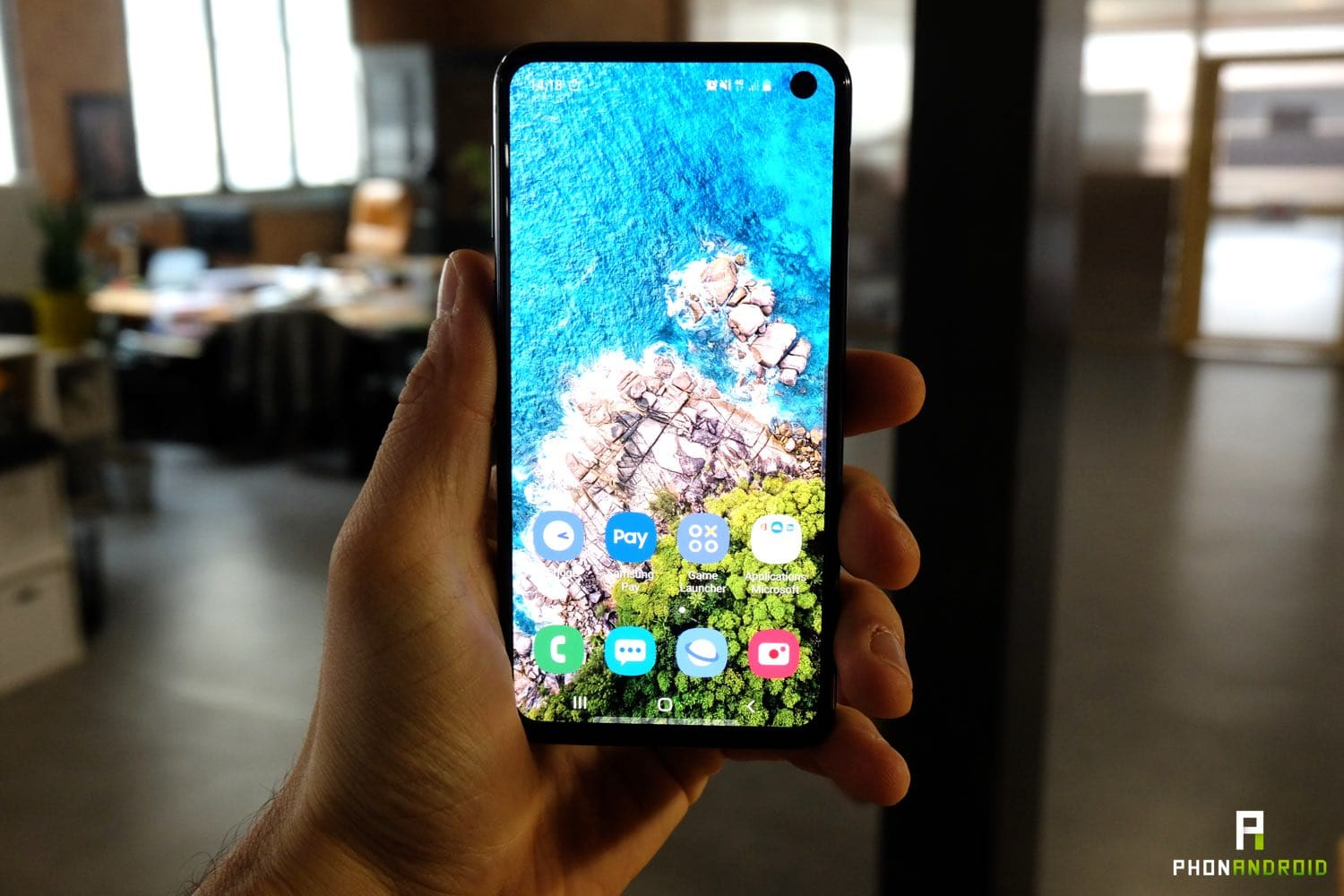 test samsung galaxy s10e fiche technique