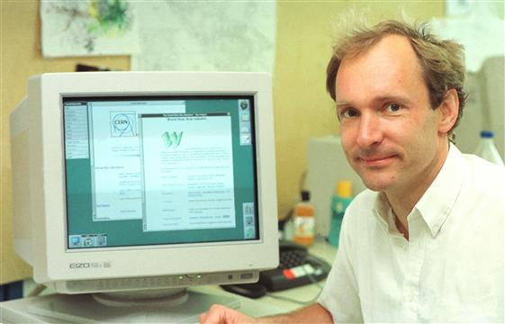Tim Bernes-Lee en juillet 1994