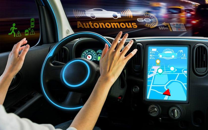 Amazon voiture électrique et autonome