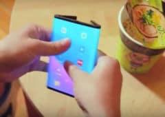 xiaomi smartphone pliable video