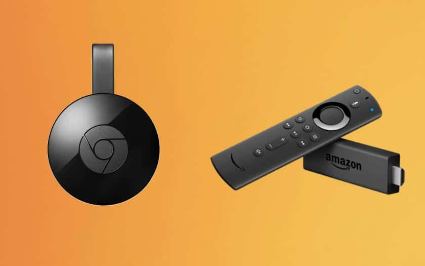 amazon fire tv google chromecast