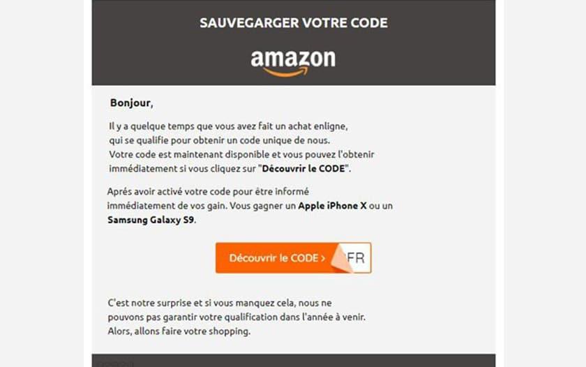 amazon offre pas iphonex galaxy s9 gratuit arnaque