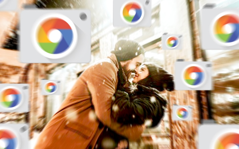 Appareil Photo Google bisous