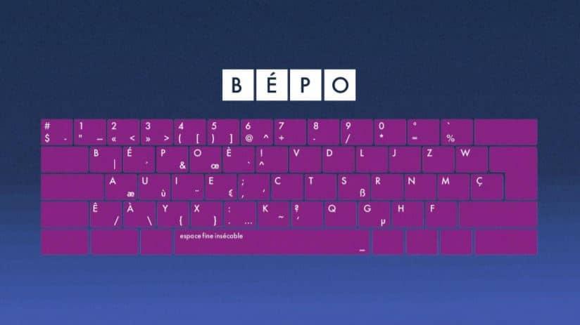 clavier bepo