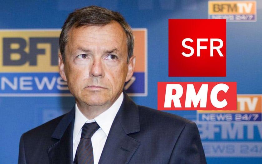 coupure bfm rmc altice sfr plie pas free csa