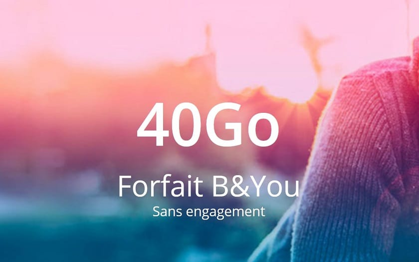forfait b&you 40 Go