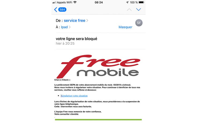 free mobile phishing