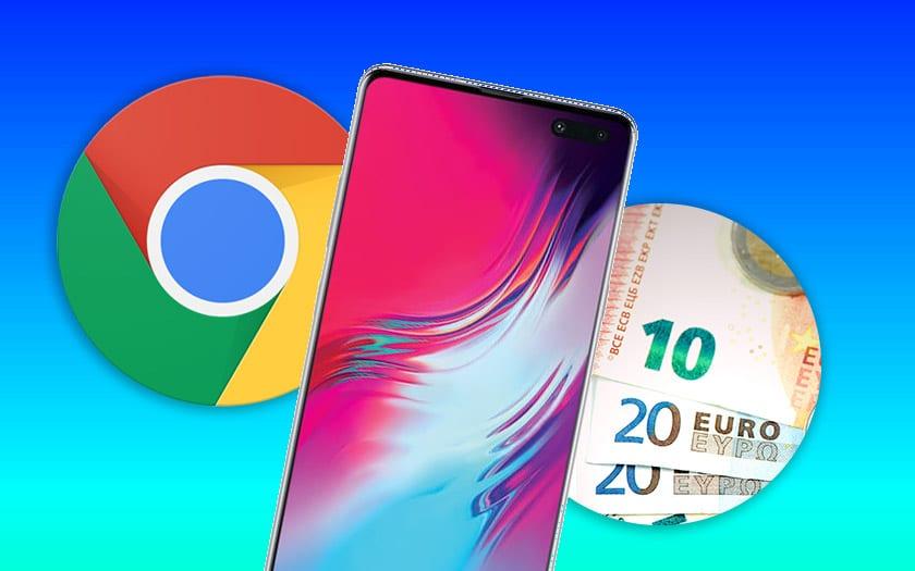 galaxy note 10 pro batterie chrome phishing prix forfait mobile