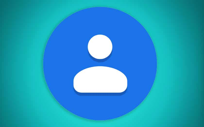 google contacts mode sombre apk