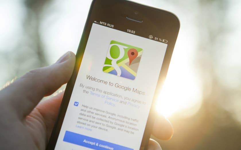 Google Maps publicités