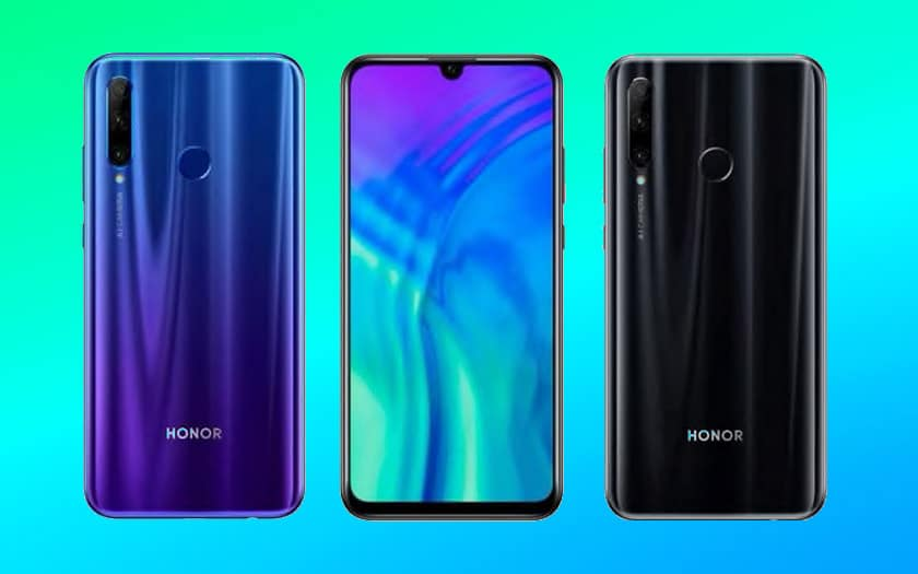 honor 20 lite officiel