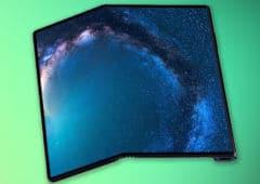 huawei mate x pli ecran comme galaxy fold