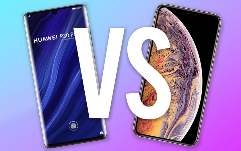 huawei p30 vs iphone xs max