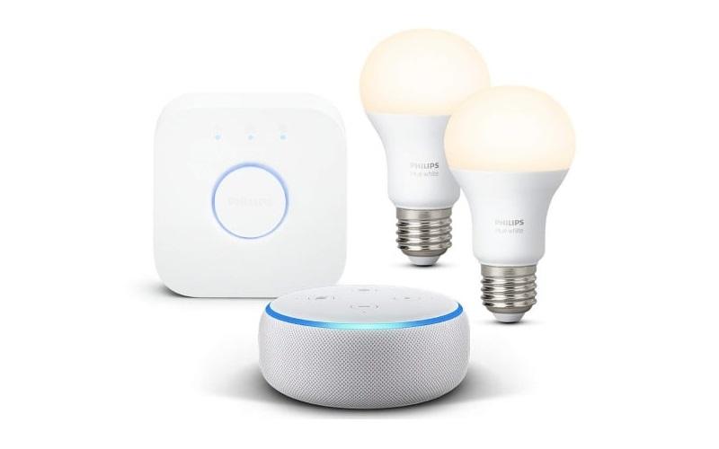 Kit de démarrage Philips Hue + Amazon Echo Dot