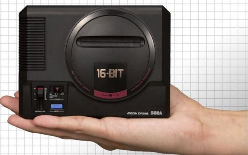 mega drive mini sega liste jeux