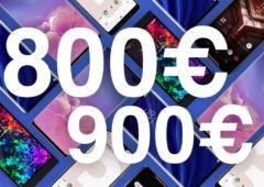 meilleurs smartphones 800 900