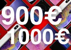 meilleurs smartphones 900 1000