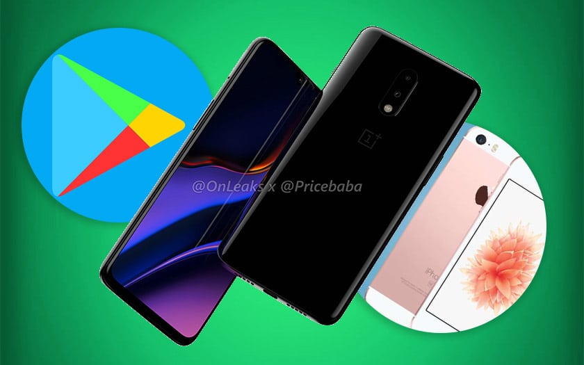 mises jour android play store oneplus 7 iphone xe