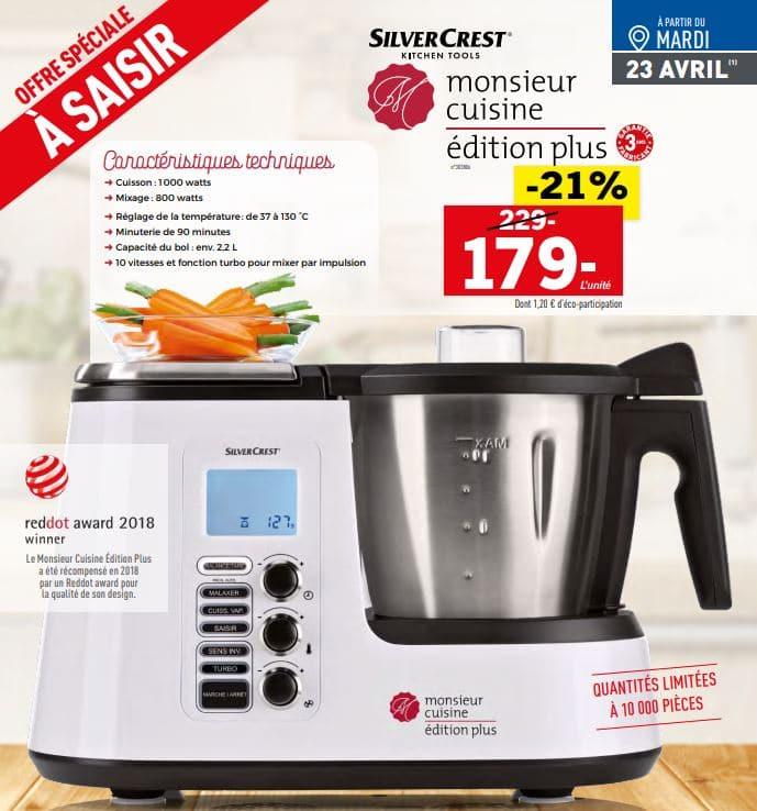 Robot Monsieur Cuisine Edition Plus Moins Cher A 179 Bon