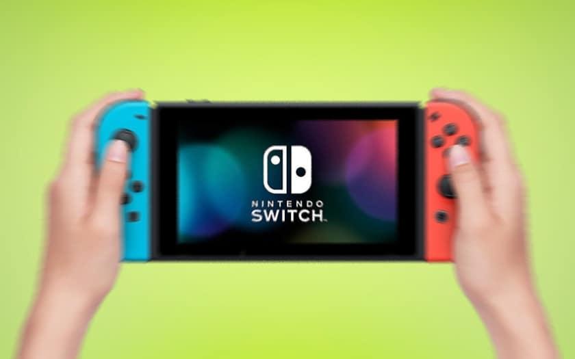 Nintendo Switch mise à jour